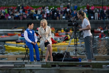 Young soloist Felipe Jiang is interviewed by Ceilidh Millar of CHEK News after his performance in 2017.