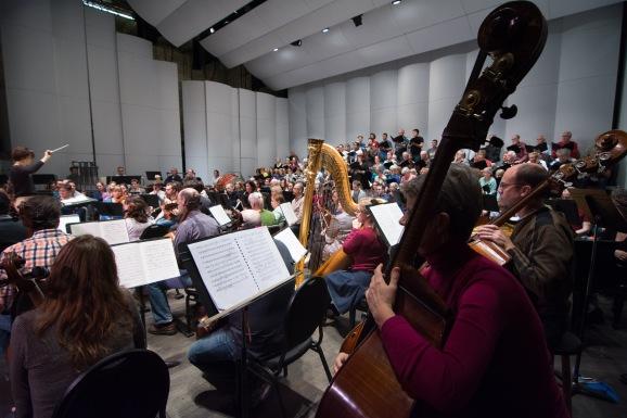 Rehearsing the Britten War Requiem
